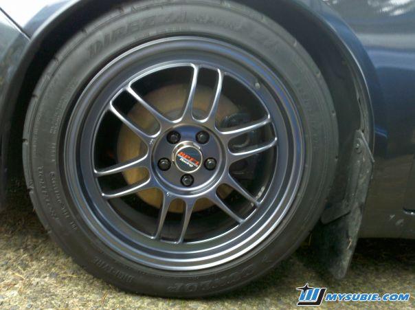 Enkei Rpf1 17x8 35 5x100 Sbc Finish W Dunlop Star Specs