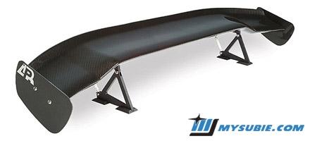 APR GTC-200 Carbon Fiber Wing - Subaru Parts Marketplace - MySubie com